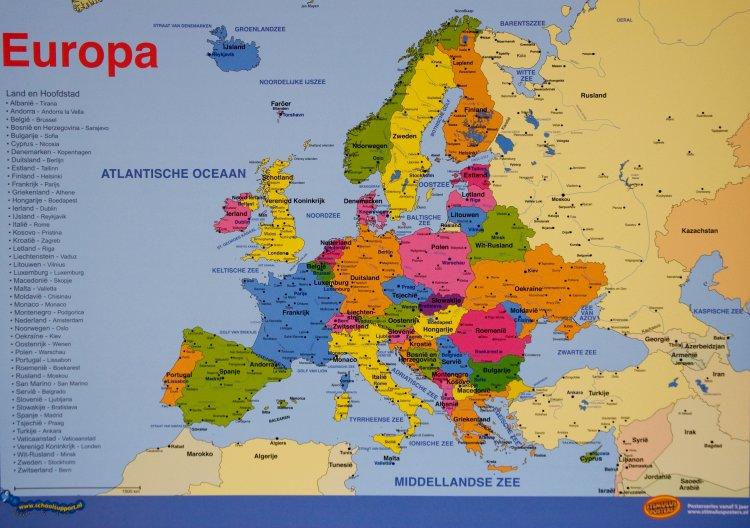 Mapa Interactivo Landen Van Europa Klik Aan Emotional