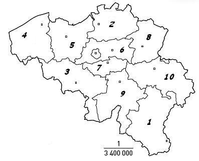 Map Quiz Provincies Van Belgie Geography Provincies Belgie