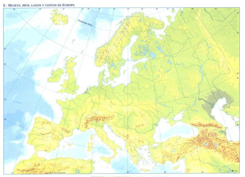 Mapa Físic De Catalunya Mut.Print Mapa Fisic Mut D Europa 1º E S O Quitus93 Ayats