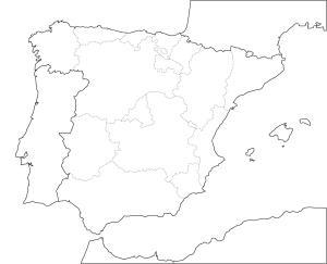 Imprimir Mapa Interactivo Climas De España Biología 5º Primaria Clima Mediterráneo Clima Continental Clima Subdesertico