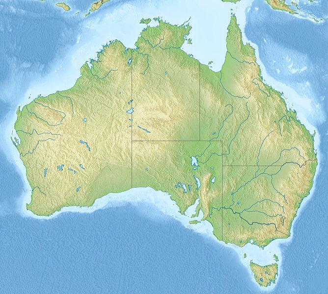 Mapa Oceania Fisico Mudo.Map Quiz Mapa Fisico De Oceania Geografia 1º E S O