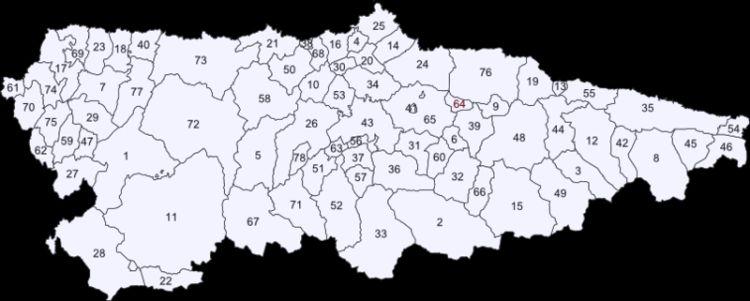 Mapa De Asturias Concejos.Mapa Interactivo Concejos Asturias 6º Primaria Asturias