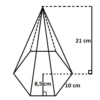 Test: Área y Volumen de poliedros (matemáticas - 8º