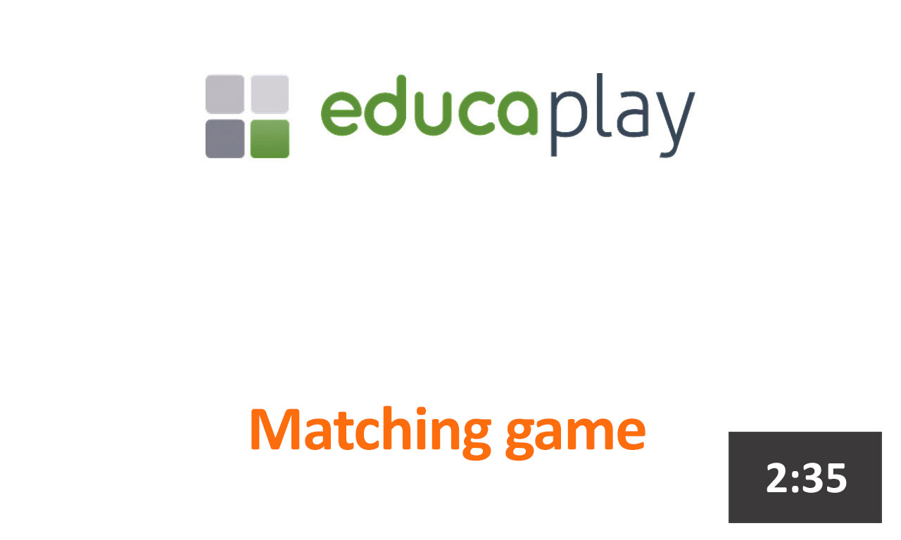 matching activity online